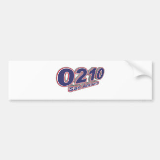 0210 San Antonio Bumper Sticker