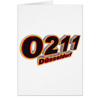 0211 Duesseldorf Card