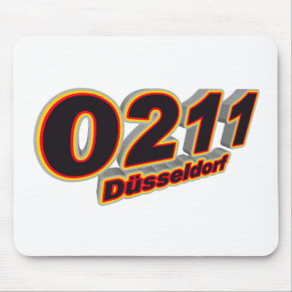 0211 Duesseldorf Mouse Pad