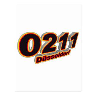 0211 Duesseldorf Tarjetas Postales