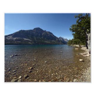 0216 8/12 lago st. Mary en glaciar Cojinete
