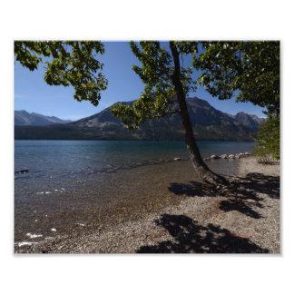 0217 8/12 lago st. Mary en glaciar Cojinete