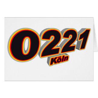 0221 Koeln Card