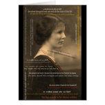 022-5 mujer de los proverbios 31 tarjeta de felicitación