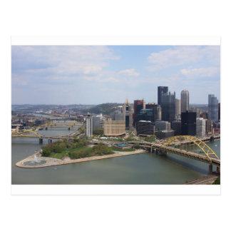 0230 Pittsburgh (Golden Triangle).JPG Postcard