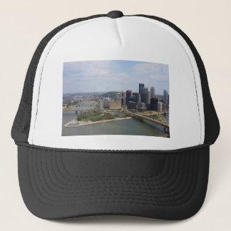 0230 Pittsburgh (Golden Triangle).JPG Trucker Hat