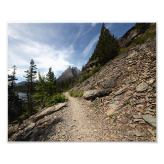 0239 8/12 Two Medicine Lake in Glacier Photo Print