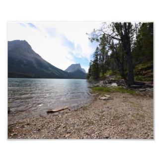 0259 8/12 lago st. Mary en glaciar Cojinete