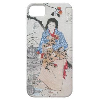 028 - Señora Chiyo y el agua quebrada Bucket.jpg Funda Para iPhone SE/5/5s