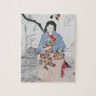 028 - Señora Chiyo y el agua quebrada Bucket.jpg Puzzle