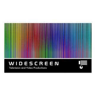 02 con pantalla grande plantilla de tarjeta de visita
