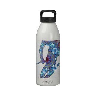 02 de esquí botella de beber