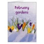 02 February greeting Card