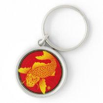 02_Golden carp_1@miyasan Keychain
