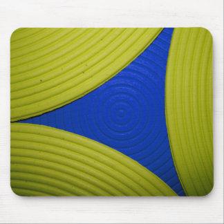 02 Mousepad amarillo y azul Alfombrilla De Ratones