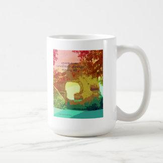02 Mug - Original Art & Haiku - ancient stone