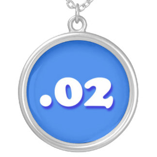02 My Two Cents Internet Forum Phrase Round Pendant Necklace
