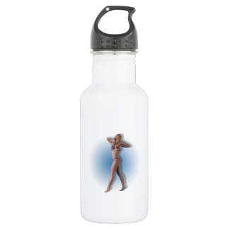 02 Pin-Up - 18oz Water Bottle
