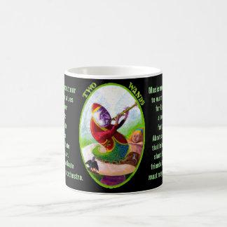 02. Two of Wands - Alice tarot Coffee Mug