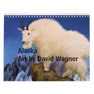 035, AlaskaArt de David Wagner Calendarios