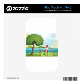035 DECAL FOR iPod TOUCH 4G