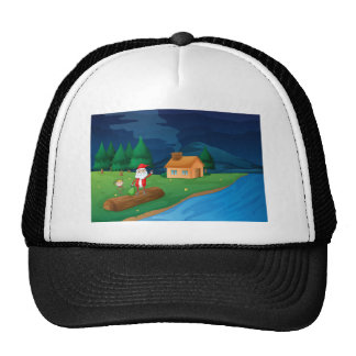 035 TRUCKER HAT