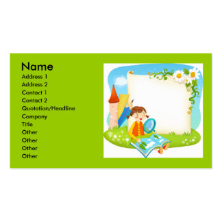 0370010439, Name, Address 1, Address 2, Contact... Double-Sided Standard Business Cards (Pack Of 100)