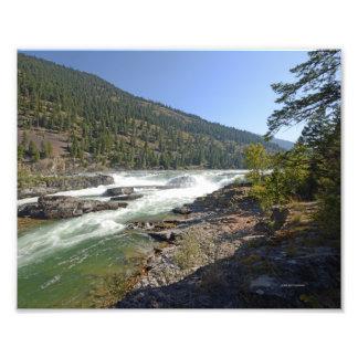 0387 8/12 Kootenai Falls in Libby, MO Photo Art
