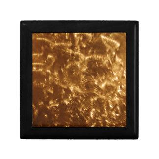 038 JPG Gold Brushed Metal design Gift Box