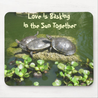 03-21-10 246, Love is Basking in the Sun Together Mouse Pad