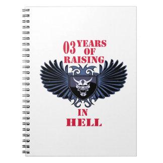 03 años de aumento en infierno libretas