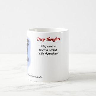 03 deep thoughts coffee mug