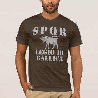 03 Julius Caesar's 3rd Gallica Legion - Roman Bull T-Shirt