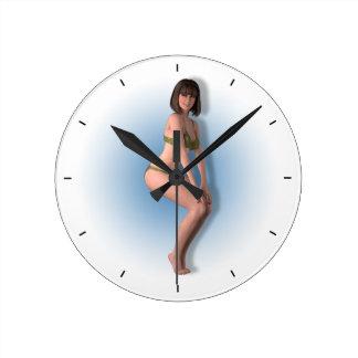 03 Pin-Up - Round Clock