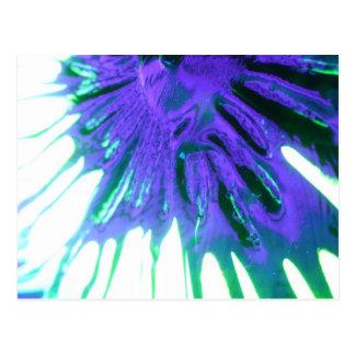 "#03 Shattered Flower Veins"", Phantasmagoria Series Postcard"