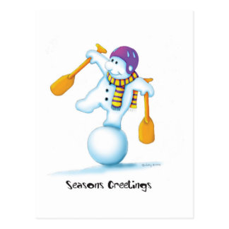 03_snowman postcard