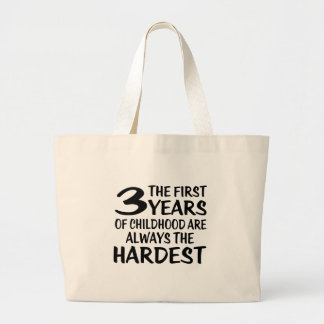 03 The First  Years Birthday Designs Large Tote Bag
