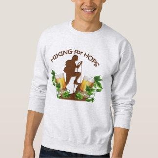 (03)The Hiking for Hops Mens Basic Sweatshirt