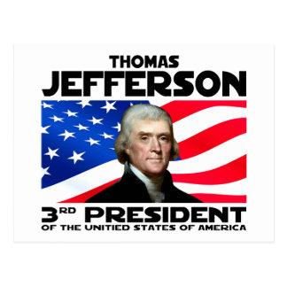 03 Thomas Jefferson Postcard