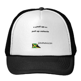 03w Jamaica Pull up selecta Trucker Hat