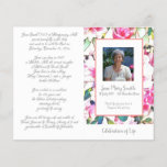 """#040830 Memorial Funeral Order of Service Program<br><div class=""""desc"""">Customize with your text &amp; photo - Programs are double sided and will be Folded when complete,  make sure your text is centered to half page / foldline when editing - Graphic Design by KDArtStudio c.2017</div>"""