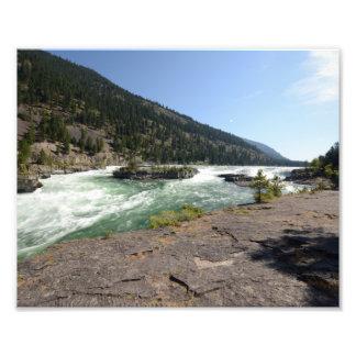 0408 8/12 Kootenai Falls Photo Print