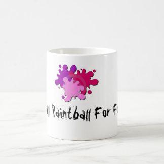 0409026, 1189819661pAUtiX, I Will Paintball For... Classic White Coffee Mug