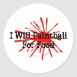 0409026, I Will Paintball  For Food Sticker