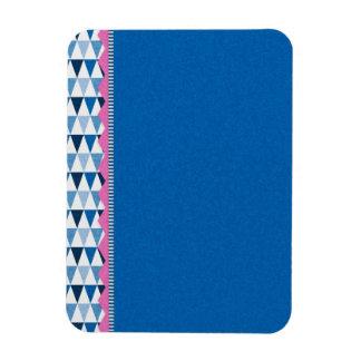 040 BLUE SCRAPBOOKING DIGITAL BACKGROUNDS WHITE PI MAGNET