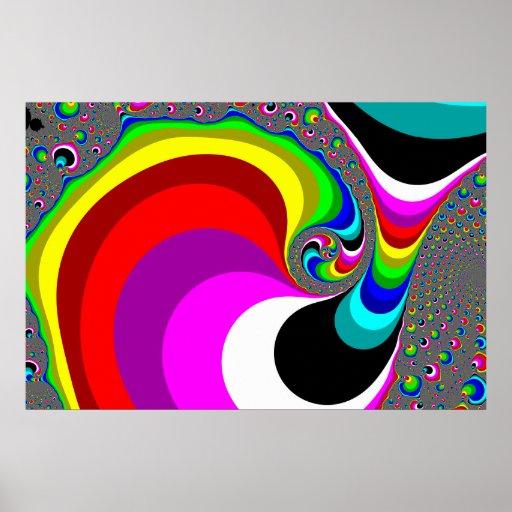 040 Obama - arte del fractal Posters