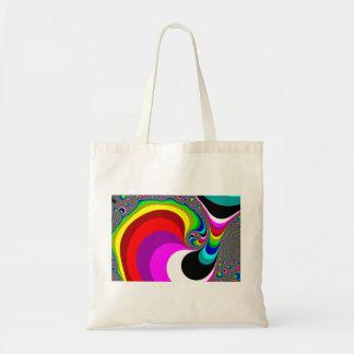 040 Obama - Fractal Art Budget Tote Bag