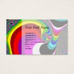 040 Obama - Fractal Art Business Card