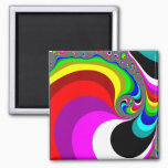 040 Obama - Fractal Art Magnet