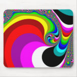 040 Obama - Fractal Art Mouse Pad